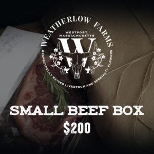 Small Beef Box 200 dollars